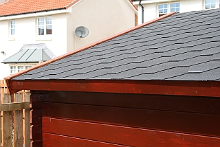 quality bitumen roof tiles