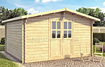 Ascot 1 log cabin kits