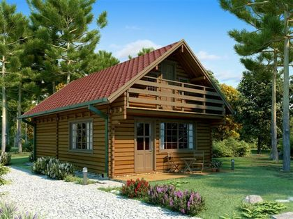 Luxury log cabins