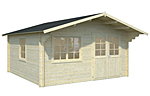 Britta 17.5sqm log cabin kits