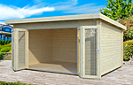 Lea 14.2sqm log cabin kits