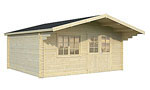 Britta 22.3sqm log cabin kits