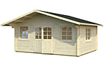 Helena 18.6sqm log cabin kits