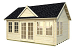 Claudia 19.4sqm log cabin kits