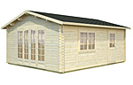 Irene 19.0sqm log cabin kits