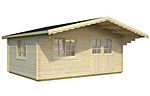 Sally 19.1sqm log cabin kits