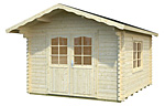 Sally 10.2sqm log cabin kits