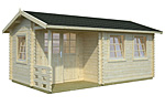 Susanna 12.4sqm log cabin kits