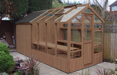 Shed For Greenhouse
