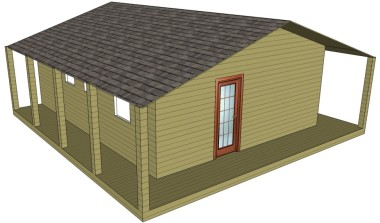 Log cabins - Bespoke plans