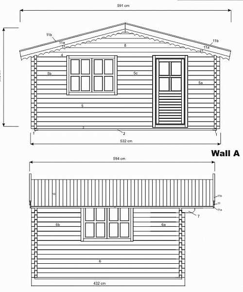 Plymouth log cabin plan