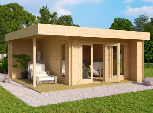 Cardiff Log Cabin Offer